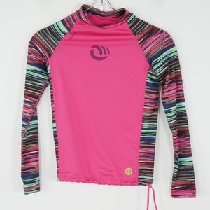 cecbec25 Olaian Swim | 500 Uv Protection Girls Surfing Rashguard M | Poshmark
